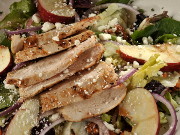 Salad Gorganzola Apple Chicken
